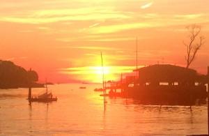 Sunset Jepson Island